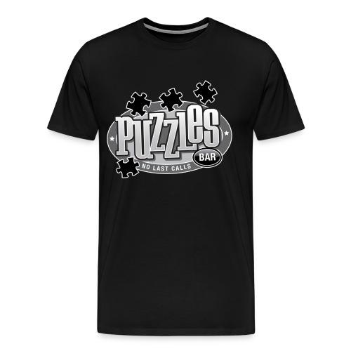 Puzzles Bar Women's Standard Weight T-Shirt - Men's Premium T-Shirt