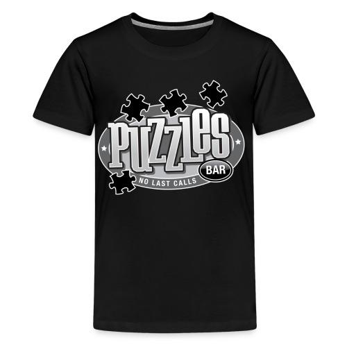 Puzzles Bar Women's Standard Weight T-Shirt - Kids' Premium T-Shirt