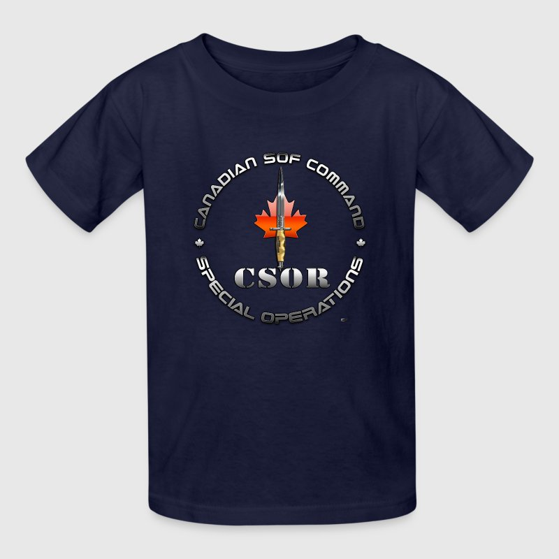 Canadian Special Operations Regiment (CSOR)  - Kids' T-Shirt