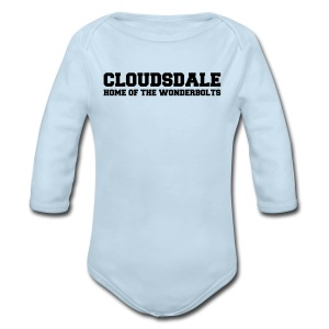 Cloudsdale - Long Sleeve Baby Bodysuit