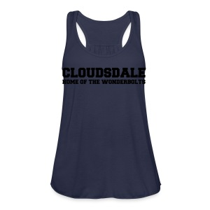 Cloudsdale - Women's Flowy Tank Top by Bella