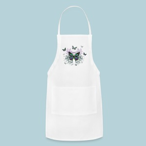 MultiColored Butterflies - Adjustable Apron