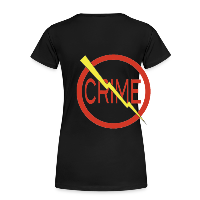 "Donald's 'Don't Do Crime"" Design (Front & Back)"