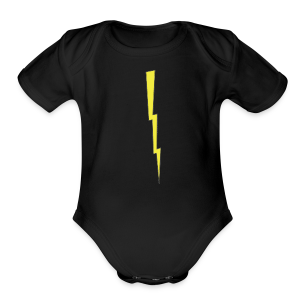 Donald's 'Don't Do Crime Design (Front & Back) - Short Sleeve Baby Bodysuit