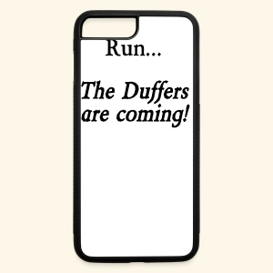 Run... The Duffers are coming! - iPhone 7 Plus/8 Plus Rubber Case