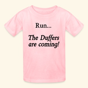 Run... The Duffers are coming! - Kids' T-Shirt