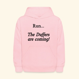 Run... The Duffers are coming! - Kids' Hoodie