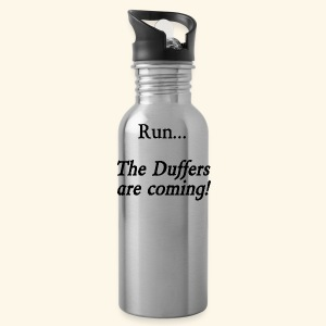 Run... The Duffers are coming! - Water Bottle