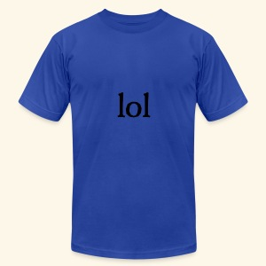 lol...ten thingy - Men's T-Shirt by American Apparel