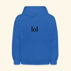 lol...ten thingy - Kids' Hoodie