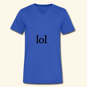 lol...ten thingy - Men's V-Neck T-Shirt by Canvas