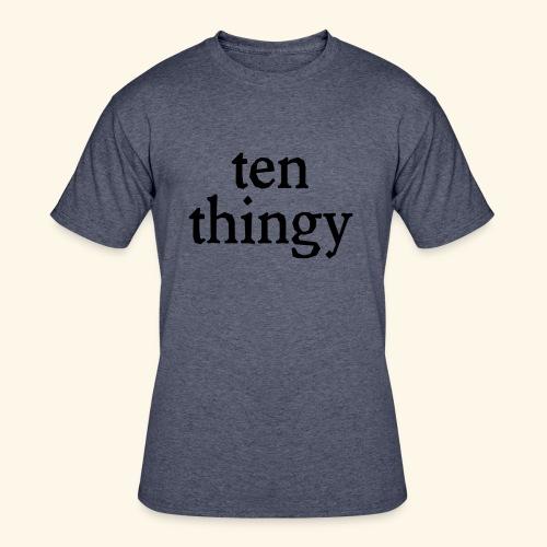ten thingy - Men's 50/50 T-Shirt