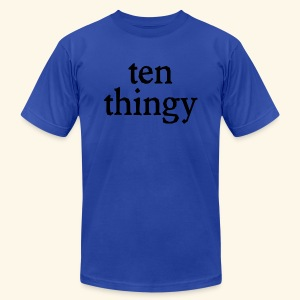 ten thingy - Men's T-Shirt by American Apparel