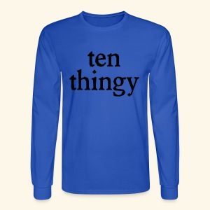 ten thingy - Men's Long Sleeve T-Shirt