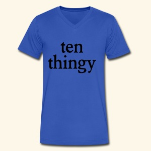 ten thingy - Men's V-Neck T-Shirt by Canvas