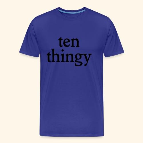 ten thingy - Men's Premium T-Shirt