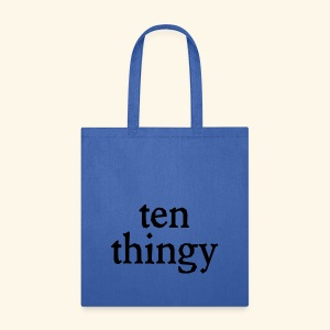 ten thingy - Tote Bag