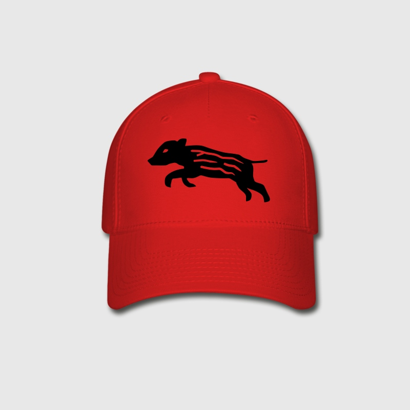 wild boar pig piglet baby youngster hog hunter hunting Caps - Baseball Cap