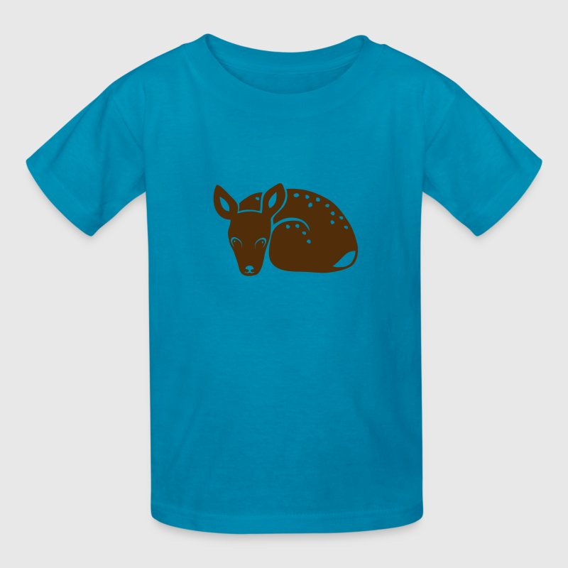 fawn kid deer timid cute bambi Kids' Shirts - Kids' T-Shirt