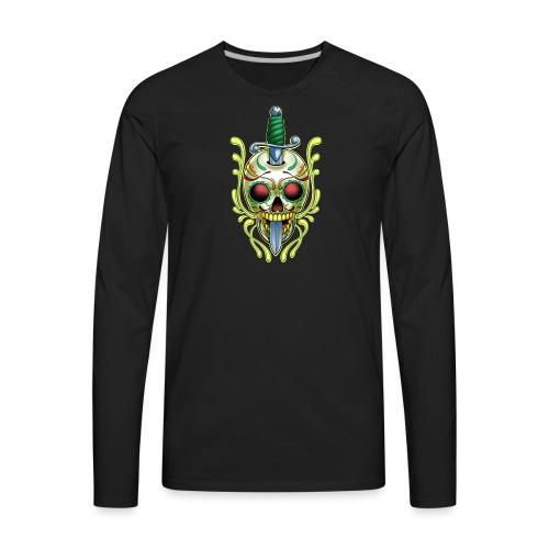 C-119 DoD Skull w/Sword Women's T - Men's Premium Long Sleeve T-Shirt