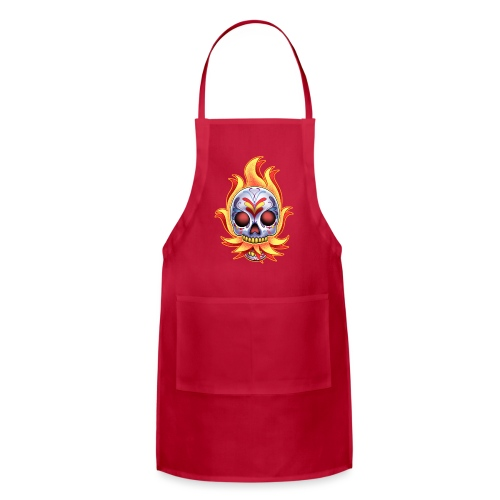 C-120 DoD Fire Skull Women's T - Adjustable Apron