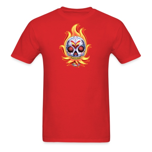 C-120 DoD Fire Skull Women's T - Men's T-Shirt