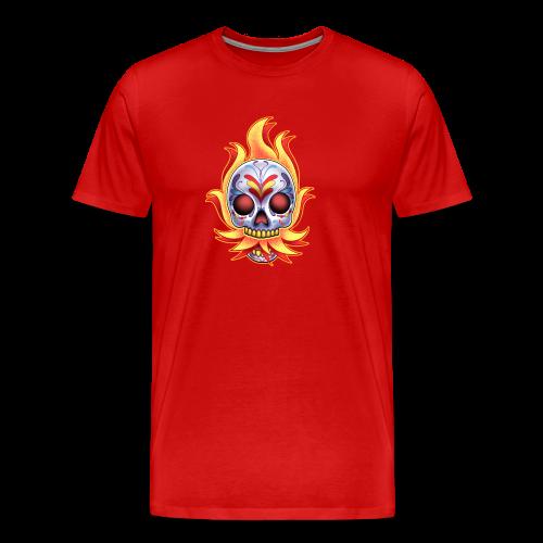 C-120 DoD Fire Skull Women's T - Men's Premium T-Shirt