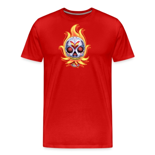 C-120 DoD Fire Skull Women's T - Men's Premium T-Shirt