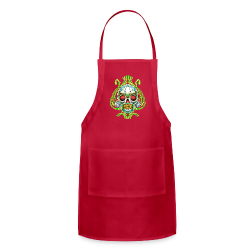 C-120 DoD Fire Skull Tee - Adjustable Apron