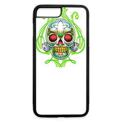 C-120 DoD Fire Skull Tee - iPhone 7 Plus/8 Plus Rubber Case