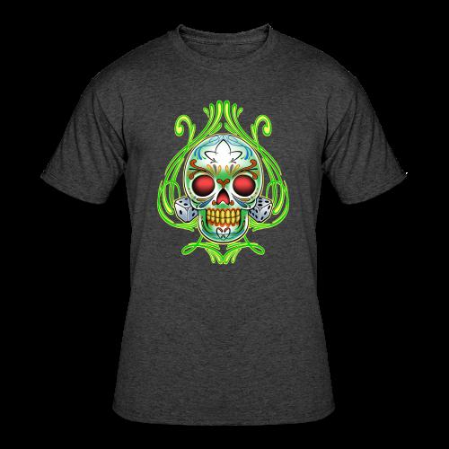 C-120 DoD Fire Skull Tee - Men's 50/50 T-Shirt