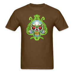 C-120 DoD Fire Skull Tee - Men's T-Shirt