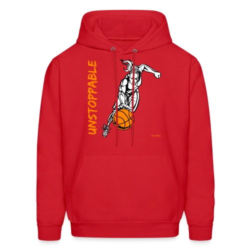 Basketball - Unstoppable - Women - Men's Hoodie