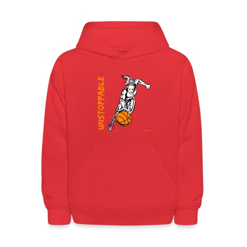 Basketball - Unstoppable - Women - Kids' Hoodie