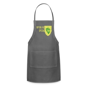 WW flora (front & back) - Adjustable Apron