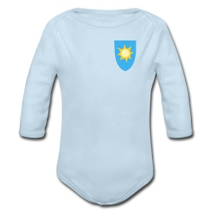 WW weather (front & back) - Long Sleeve Baby Bodysuit