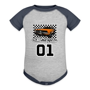 Dukes of Hazzard Dodge Charger - Baby Contrast One Piece