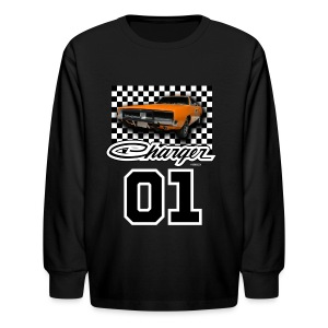 Dukes of Hazzard Dodge Charger - Kids' Long Sleeve T-Shirt