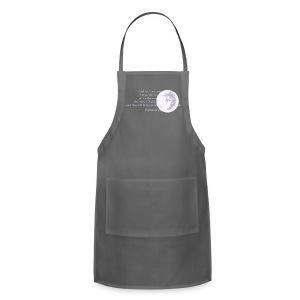 scripture (front & back) - Adjustable Apron