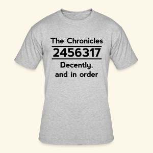 Original Reading Order - Men's 50/50 T-Shirt