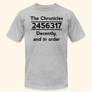 Original Reading Order - Men's Fine Jersey T-Shirt