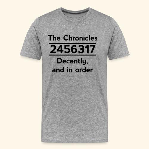 Original Reading Order - Men's Premium T-Shirt