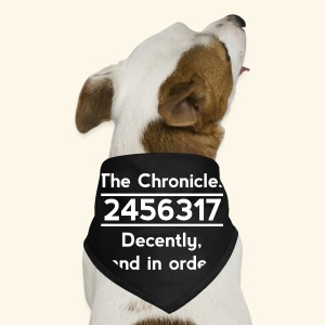 Original Reading Order - Dog Bandana