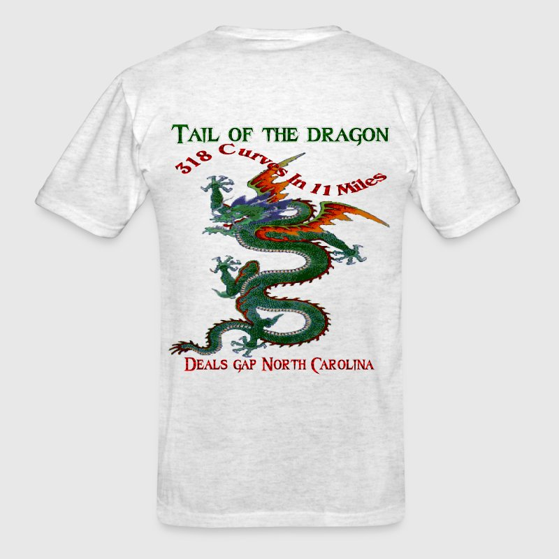 Tail of the Dragon Deals Gap North Carolina 318 Curves in 11 Miles T-Shirt - Men's T-Shirt