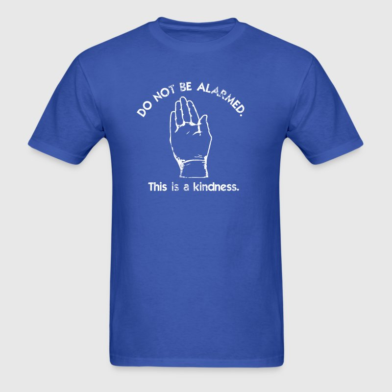 This is a Kindness - Doctor Who | Robot Plunger - Men's T-Shirt