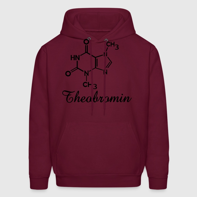 Chocolate theobromine organic compound chemistry Hoodies - Men's Hoodie