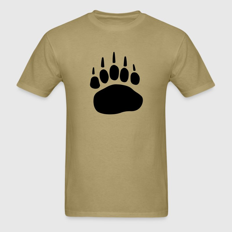 Bear Paw T-Shirts - Men's T-Shirt