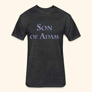 Son of Adam - Fitted Cotton/Poly T-Shirt by Next Level