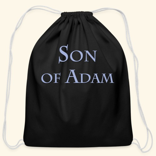 Son of Adam - Cotton Drawstring Bag
