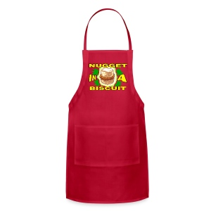 NUGGET IN A BISCUIT!!! (Women) - Adjustable Apron